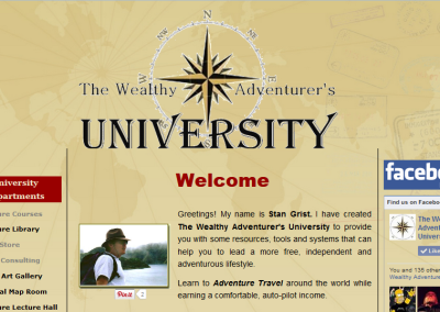 The Wealthy Adventurer's University