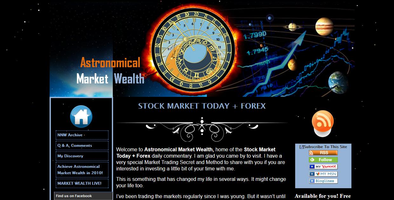 Astronomical Market Wealth